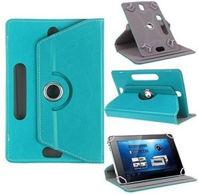 TGK Flip Cover for Samsung Galaxy Tab 3 GT-P3200, P3210 SM-T211/T210 (7.0 inch) 360 Degree Rotating Stand Case(Sky Blue, Cases with Holder)