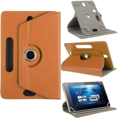 TGK Flip Cover for Acer One 7 Tablet 7 inch Stand Case Cover(Orange, Cases with Holder)