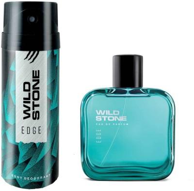 Wild Stone Edge Deodorant and Perfume Body Mist  -  For Men(200 ml, Pack of 2)