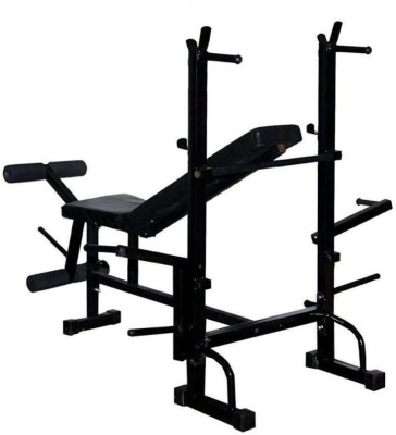 SPIRO 8 in 1 Double Support BENCH Multipurpose Fitness Bench