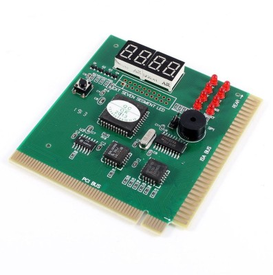 Buyyart R PC Motherboard Diagnostic Card 4-Digit PCI ISA POST Code Analyzer Motherboard