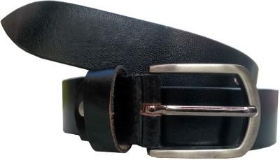 Tamanna Men Party, Formal, Evening, Casual Black Genuine Leather Belt