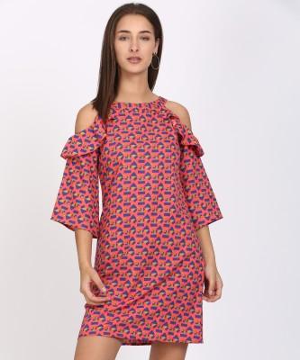 Style Quotient Women Shift Multicolor Dress