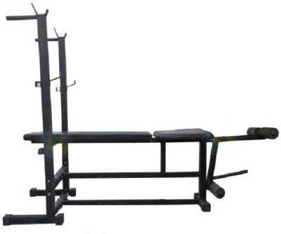SPANCO 6 in 1 ( With 350 Kg. Holding Capacity ) Multipurpose Fitness Bench