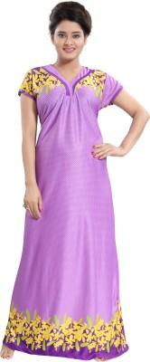 Shopping World Women Nighty(Purple)