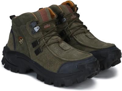 Woodland Boots For Men(Olive)