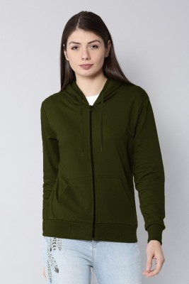 Rodid Full Sleeve Solid Women's Sweatshirt