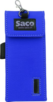 Saco Plug and Play Pouch case Protector for Power - (Blue)(Blue)