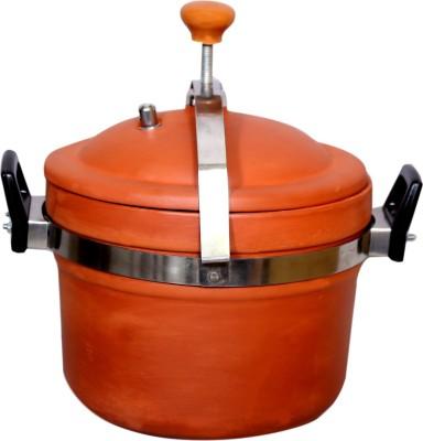 paramhans Terracotta Clay Cooker  4 Ltr Cookware Set Hard Anodised, 1   Piece