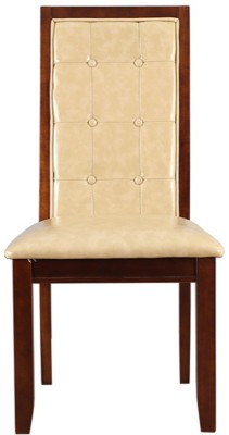HomeTown Athena Solid Wood Dining Chair(Set of 2, Finish Color - Beige)