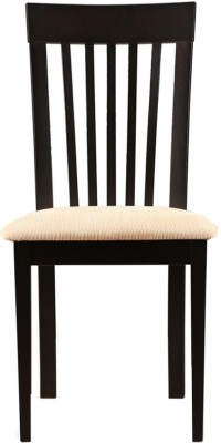 HomeTown Bentley Solid Wood Dining Chair(Set of 2, Finish Color - Dark Walnut)