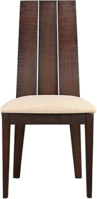HomeTown Carlton Solid Wood Dining Chair(Set of 2, Finish Color - Burn Beech)