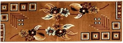 HOMELY VIBES Wool Bathroom Mat(golden, Large) at flipkart