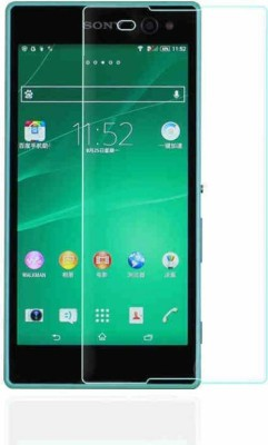 BIZBEEtech Tempered Glass Guard for Sony Xperia C3 D2533(Pack of 1)