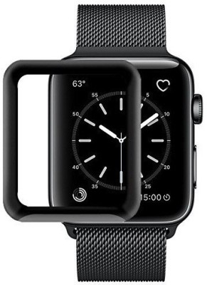 KHR Tempered Glass Guard for apple watch series 4 44mm Full Glue Screen Protector [HD shock proof] 9H Hard - apple watch 44mm (Series 4)(Pack of 1)