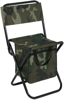 IRIS Folding Chair, Portable Camping Chair with Storage Bag for Fishing Hiking Picnic Outdoor & Cafeteria Stool(Multicolor, Pre-assembled)