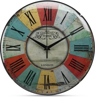 ADONAI Analog 4 cm X 30 cm Wall Clock