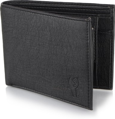 Wildedge Men Black Artificial Leather Wallet