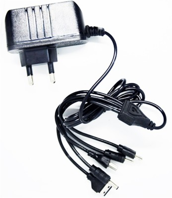 neyo 5 in 1 multi pin Mobile Charger(Black)