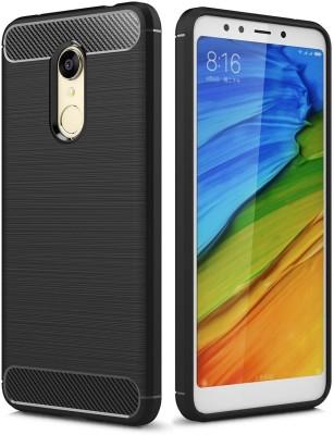 Wow Imagine Back Cover for Mi Redmi 5 Black, Silicon