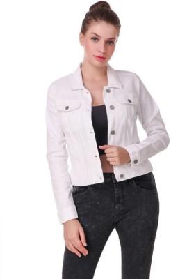 Syolo Full Sleeve Solid Women Denim Jacket