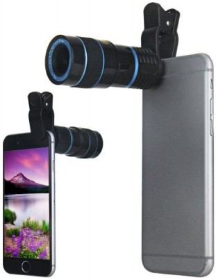 BUY SURETY Universal 8X Zoom Telescope Camera + Adjustable Holder Mobile Phone Lens(Telephoto)