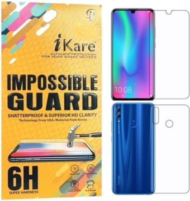 iKare Front and Back Screen Guard for Honor 10 Lite(Pack of 2)
