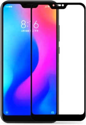 Casemaker Tempered Glass Guard for Mi Redmi 6 pro(Pack of 1)