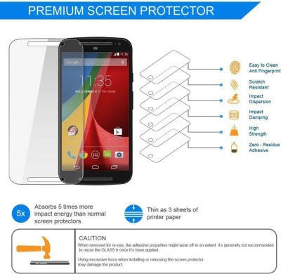 Casotec Impossible Screen Guard for Motorola Moto G (4th Generation) Plus(Pack of 1)
