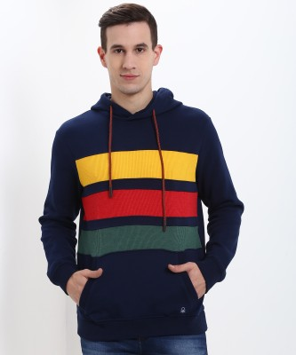 United Colors of Benetton Full Sleeve Self Design Men Sweatshirt