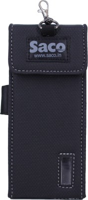 Saco Plug and Play Pouch case Protector for Power - (Black)(Black)