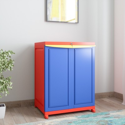 1b3f1b26ab8 Nilkamal Freedom Small 1 (FS1) Plastic Free Standing Cabinet(Finish Color -  Pepsi Blue