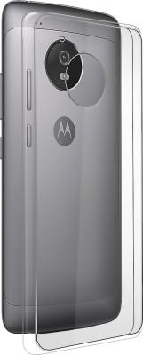 IPAK Back Cover for Motorola Moto G5 Plus(Black, Rubber)