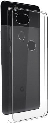 MOBIITO Back Cover for Google Pixal 2(Transparent, Anti-radiation, Silicon)