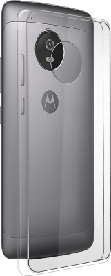 MOBIITO Back Cover for Motorola Moto G5(Transparent, Anti-radiation, Silicon)