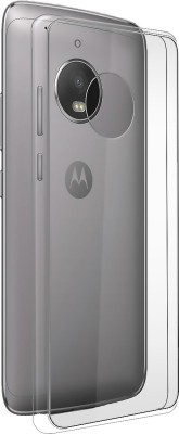 MOBIITO Back Cover for Motorola Moto G5 Plus(Transparent, Anti-radiation, Silicon)