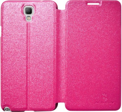 COVERBLACK Flip Cover for Samsung Galaxy Note 3 Neo SM-N7500ZKAINU/INS(Pink)
