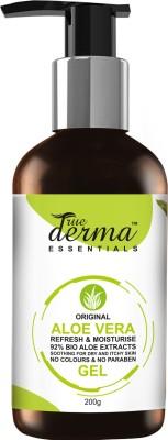 True Derma essentials Aloe Vera Refresh & Moisturise Gel(200 ml) at flipkart