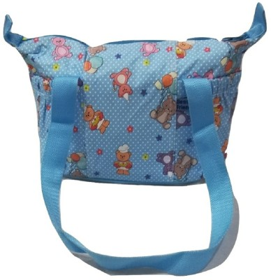 Baby's Clubb Multi Function Baby Diaper bag messenger bag baby diaper bag messenger bag multi function bag(Blue, Multicolor)