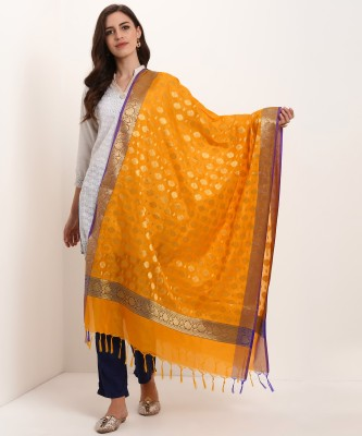 Biba Polycotton Printed Women Dupatta at flipkart
