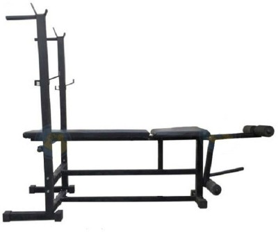SPANCO 6 in 1 ( With 390 Kg. Holding Capacity ) Multipurpose Fitness Bench