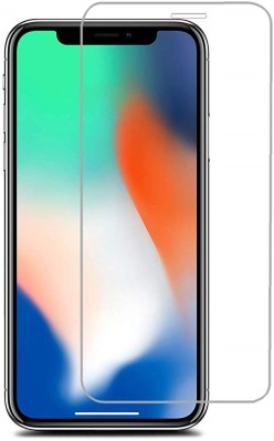 shrino Edge To Edge Tempered Glass for Shrino iPhone X Tempered Glass, for iPhonex Screen Glass Protector, Shrino Apple 10 [Tempered Glass] (Mirror)(Pack of 1)