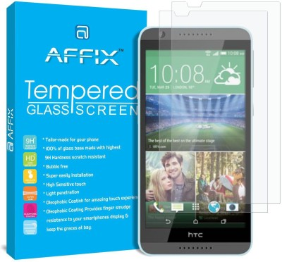Affix Tempered Glass Guard for HTC Desire 820Q(Pack of 2)