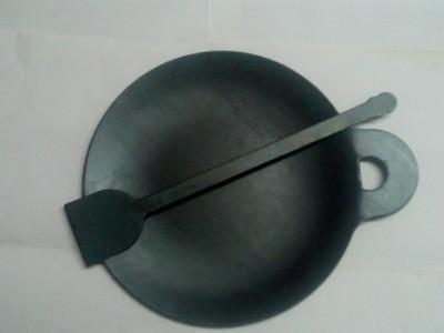 Jayam IRON DOSA TAWA / DOSA KALLU 2KG WITH DOSA TURNER Tawa 26 cm diameter Iron, Non stick Jayam Tawas