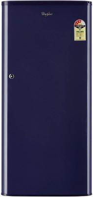 Haier 195 L Direct Cool Single Door 5 Star Refrigerator(Brushline Silver, HRD-1955CBS-E)