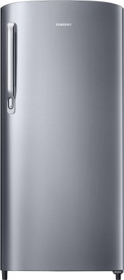 Samsung 192 L Direct Cool Single Door 2 Star Refrigerator(Elective Silver, RR19R2412SE/NL)