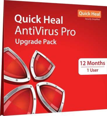 Quick Heal Anti-virus 1 User 1 Year (Renewal)(CD/DVD)