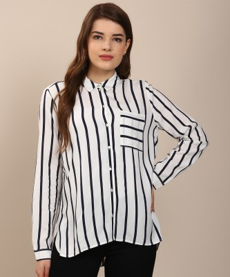 Women Striped Casual Shirt