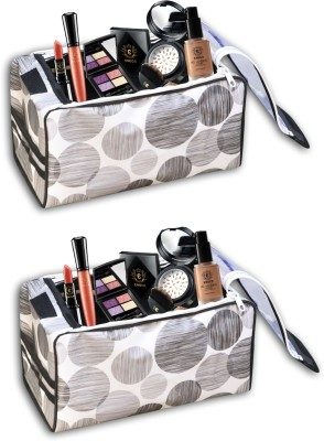 LaVichitra Cosmetic Pouch Grey