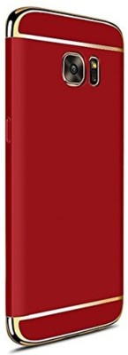 Vibhar Back Cover for Samsung Galaxy S7 Edge Red